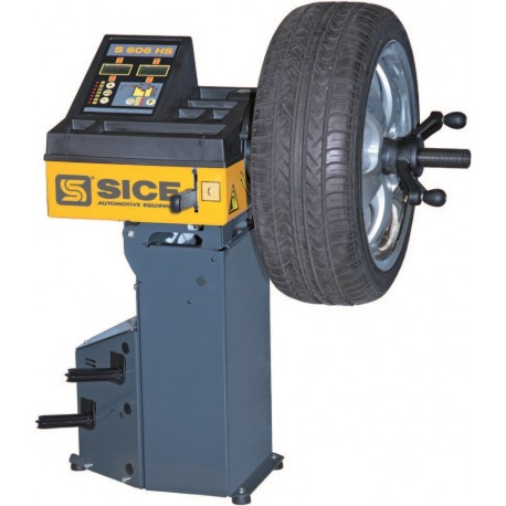Wheel Balancer for Mobile Service Unit – SICE S606HS